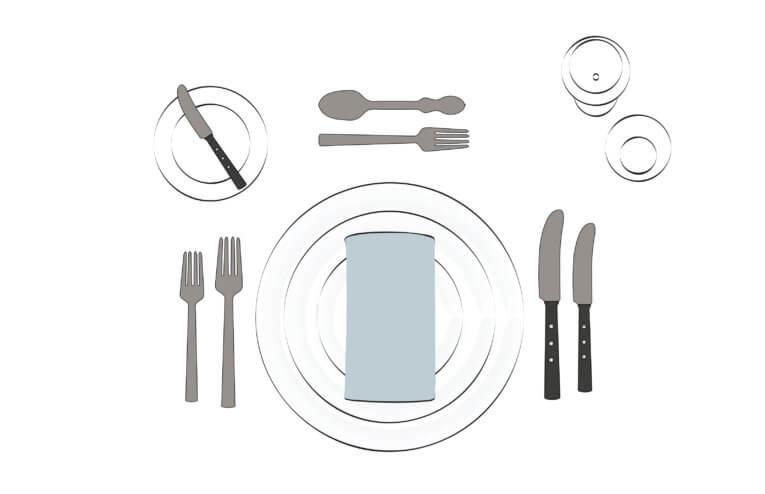 Sådan dækker du dit bord korrekt