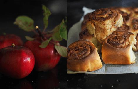 Kanel-æble brud