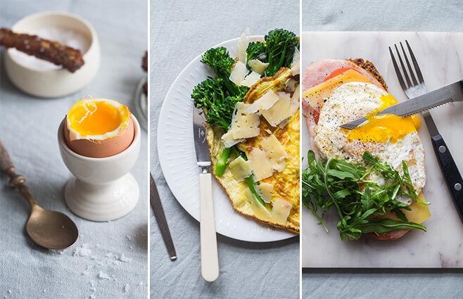 Lækker Morgenmad Med æg Chrichri