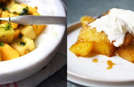 Himmelsk smag af ananas