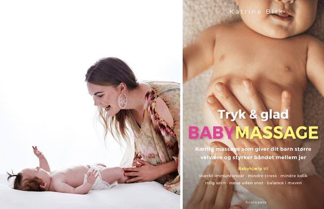 Sådan nusser du din baby glad og rask