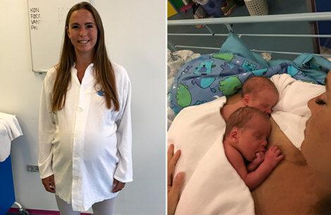Klumme: Kejsersnit og tvillingefødsel - to skræmmende ord..