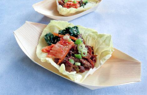 Hurtig & lækkerkoreansk fingermad