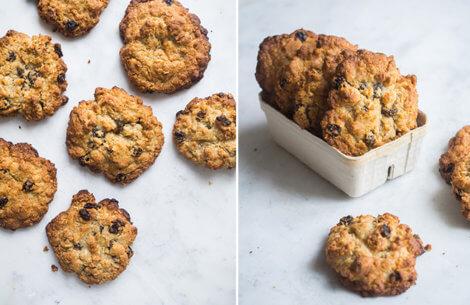 Cookies med tre slags nødder