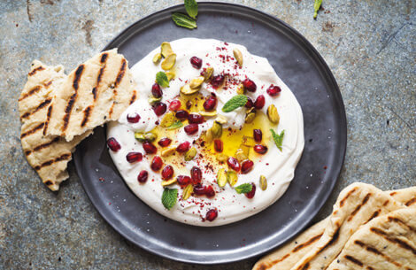Yoghurtdip Lebanese Style