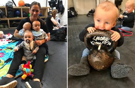 Klumme: Om at være Superfit mom