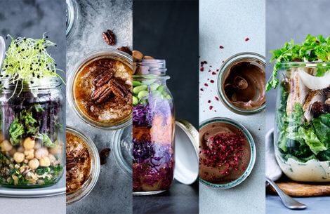 Food in a JAR: 5 fantastiske opskrifter