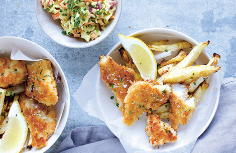Det sunde alternativ til klassikeren Fish'n'Chips