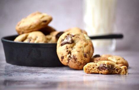 Favorit cookies med to slags chokolade