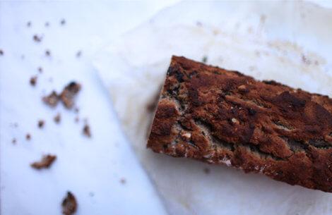 Hverdagskagen uden gluten & sukker: Banan-kokosbrød