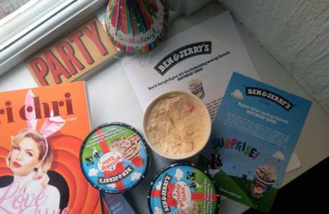 Ben & Jerry's fejrer 40 års jubilæum med ny is