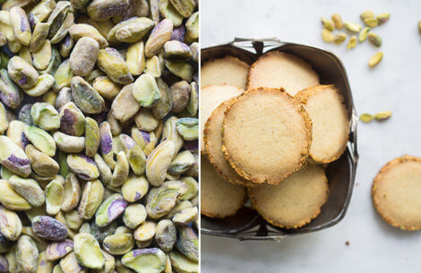 Pistacie-kardemomme småkager