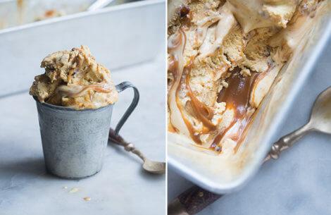 Is med brændte mandler & karamel