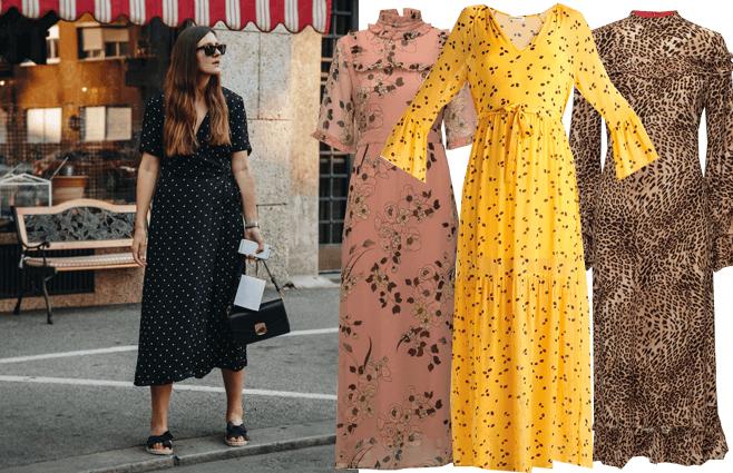 Chikke og farverige kjoler til under 1000 kr.