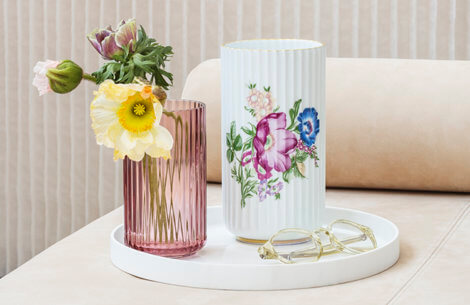 Lyngby Porcelæn designer ny & smuk fortolkning af Lyngbyvasen