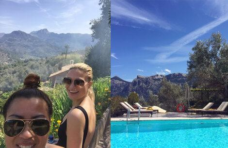 Christiane: Min tur til Mallorca