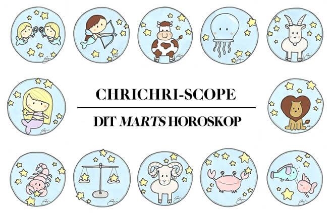 Dit horoskop: Marts