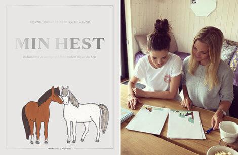 Min hest: Ny bog fra Tina Lund og Simone Thorup Eriksen