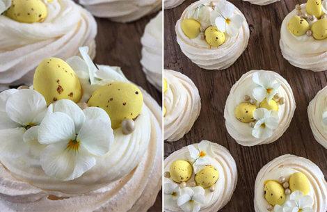 Skøn påskedessert med smag af forår