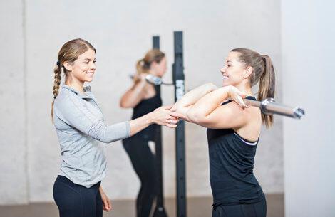 Sådan skal du træne i fitnesscenteret