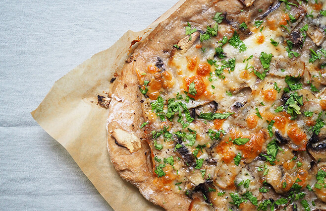 Din pizza til efteråret