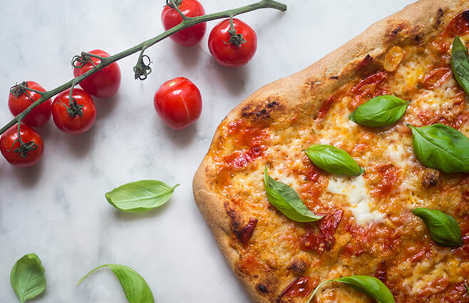 It's Pizza Time: Pizza Margherita
