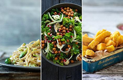 3 opskrifter til dig der vil spise mere grønt & sundt