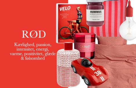 Indret dit hjem med lækre røde nuancer