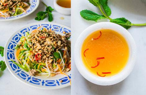 Nem aftensmad: Sund & sprødorientalsk salat