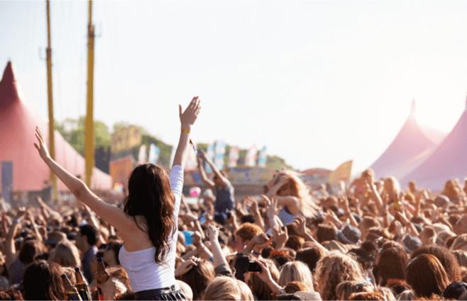 Sådan får du en mere luksuriøs festival