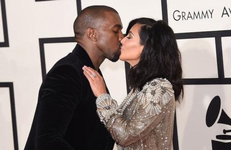 Kim og Kanye afslører datterens vilde navn