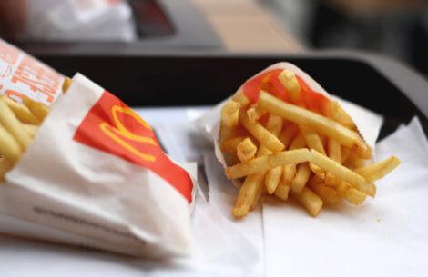 Styrk dit hår: Spis McDonald's pomfritter!