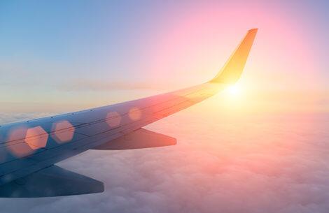 Vind en flybillet til et valgfrit sted i verden