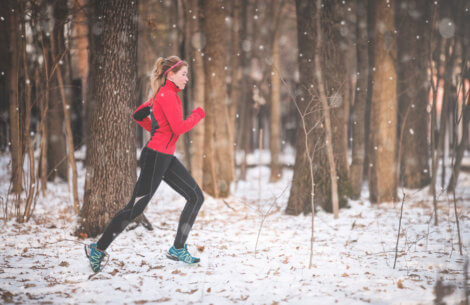 Hold varmen under løbeturen i vinterkulden