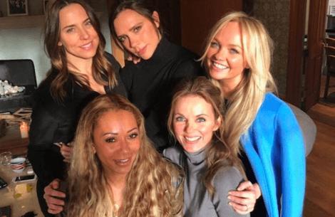 Spice Girls genforenet!