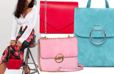 Forårets store trend: farvede tasker