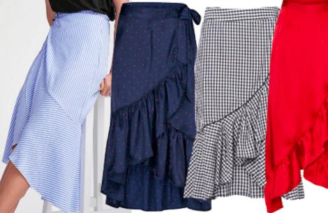 Forårstrend: Halvlange nederdele