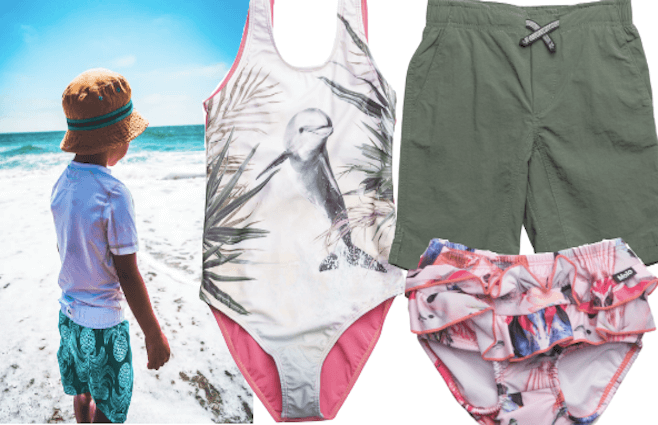Det sødeste badetøj med UV-filter til de små