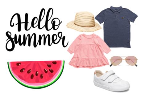 Søde sommersæt til de mindste