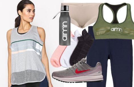 Shop lækkert træningstøj til foråret