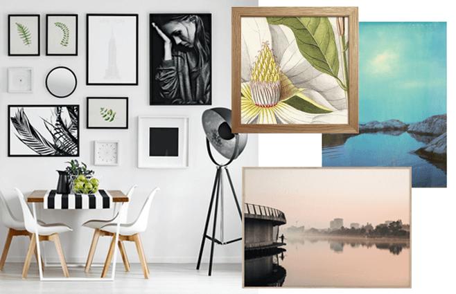 For mange hvide vægge i hjemmet? Her er 11 flotte billeder