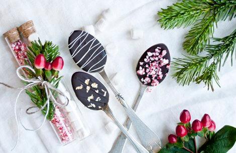 Varm chokolade-kit