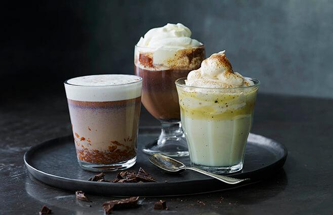 Varm chokolade på 3 måder