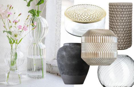 Perfekt til forårsblomsterne: 6 skønne vaser