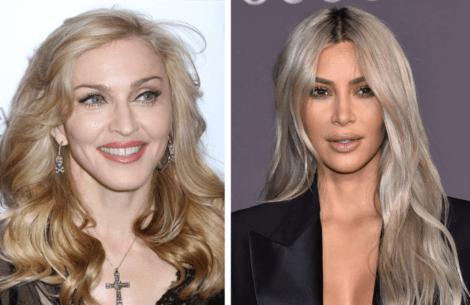 Kim Kardashian og Madonna hinter om samarbejde