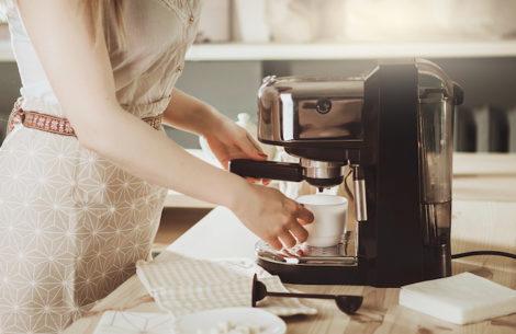 kaffemaskiner og espressomaskiner